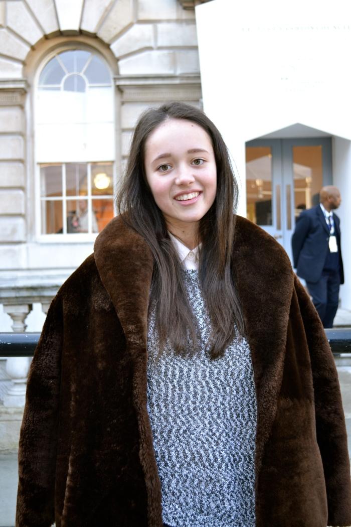 The Fur coat Girl